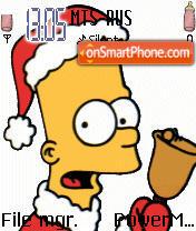 Simpsons theme screenshot