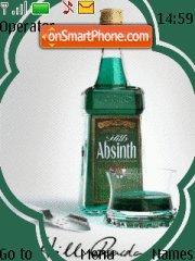 Capture d'écran Absinth thème