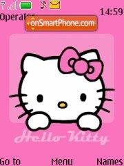 Hello Kitty 23 theme screenshot