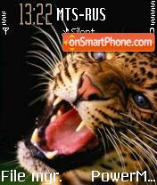 Leopard es el tema de pantalla