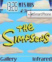 The Simpsons 01 theme screenshot