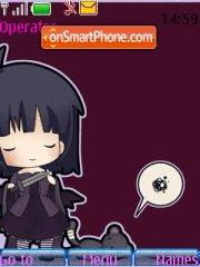 Goth Girl 04 theme screenshot