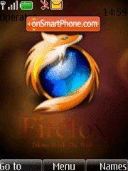 Firefox Mozilla theme screenshot