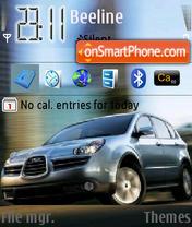 Subaru Tribeca es el tema de pantalla