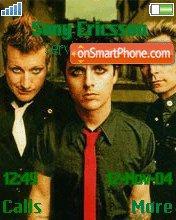 Green Day Band theme screenshot