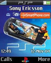 PSP theme screenshot