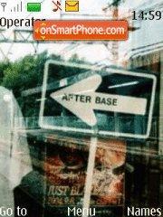 Enter Base es el tema de pantalla