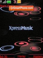Express music theme screenshot