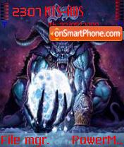Dio Os 8 theme screenshot
