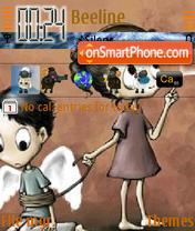 Emo Feel theme screenshot