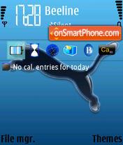 Puma Blue theme screenshot