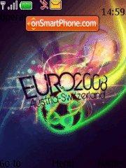 Euro 2008 08 es el tema de pantalla