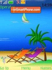 Dream Vacation es el tema de pantalla