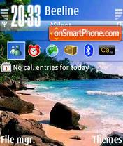Beach 25 es el tema de pantalla