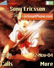 Saya Otonashi es el tema de pantalla