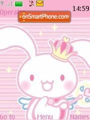 Lovely Bunny theme screenshot