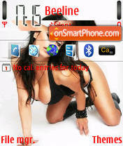 Denise Milani 10 theme screenshot