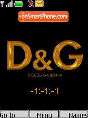 D&G Clock Theme-Screenshot