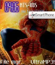 Spyman theme screenshot