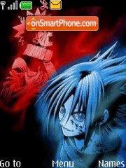 Sasuke vs. Naruto theme screenshot