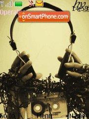 Music Headphones es el tema de pantalla