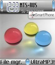 Plastic theme screenshot