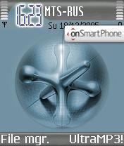 Crossbone theme screenshot