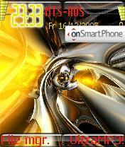 Auros theme screenshot