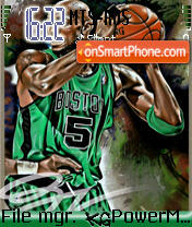 Kevin Garnett theme screenshot