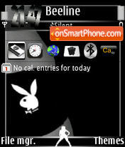 Playboy Logo 01 theme screenshot