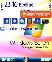 Windows7 QVGA theme screenshot
