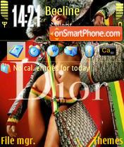 Dior 02 es el tema de pantalla