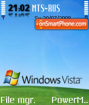 Vista Grass edition theme screenshot