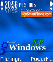 Window Xp blue theme screenshot