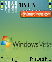 Window Vista 2 theme screenshot