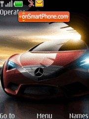 Mercedes Prot theme screenshot