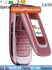 Capture d'écran Nokia 6131 thème