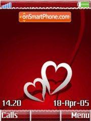 2heart w910i es el tema de pantalla