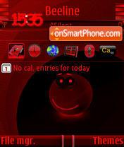 Smile Red es el tema de pantalla