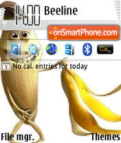 Nackte Banane es el tema de pantalla