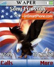 American Eagle es el tema de pantalla