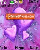 Flowers Hearts es el tema de pantalla