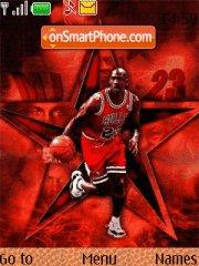 Nba Michael Jordan theme screenshot