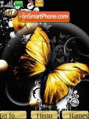 Butterfly 133 theme screenshot