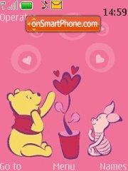 Pooh And Piglet 03 theme screenshot