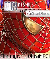 Spiderman2 theme screenshot