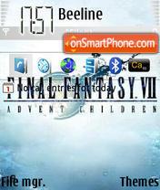 Final Fantasy 7 es el tema de pantalla