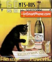 Drink Kitty es el tema de pantalla