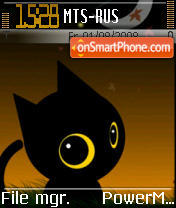 Moonlight Kitty es el tema de pantalla
