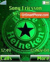Heineken 07 theme screenshot